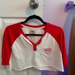 Vans thrifted t shirt